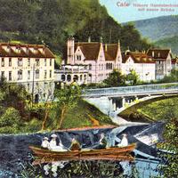 Calw -Höhere-Handelsschule-mit-neuer-Brücke
