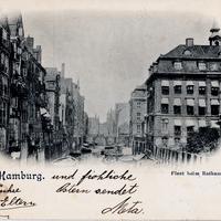 Hamburg -Fleet-beim-Rathaus