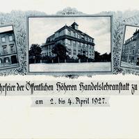 Riesa -Öffentliche-Höhere-Handelslehranstalt -50-Jahrefeier-1877