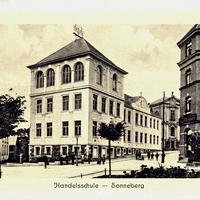 Sonneberg - Neue -Handelsschule- am-Jutta-Platz