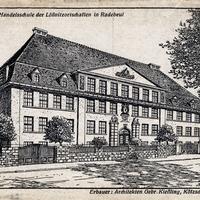 Radebeul -Gewerbe--und-Handelsschule-der-Lößnitzortschaften- Zeichnung