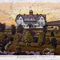 Klingenthal-in-Sachsen Jahn s-Handelslehranstalt-und-Einjährigen-Institut Poststempel-191