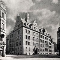 München -Gewerbeschule- Gebäude -Liebherrstr -13  -um-1910