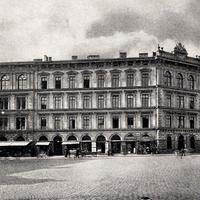 München -kaufm -Fortbildungsschule- Gebäude -Rosental-7  um-1910