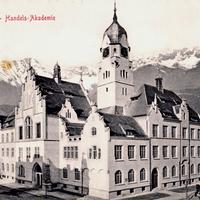 Innsbruck,-Handels-Akademie,-Poststempel-1907