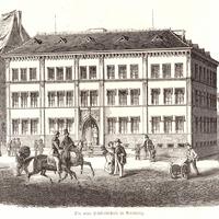 Nürnberg,-Handelsschule 1855