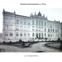 Wien,-Handelsakademie,-Architekt-Ferdinand-Fellner