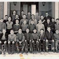 Frankfurt -Handelsschule -Klassenfoto-Anfang-der-50er-Jahre