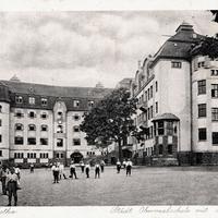 Gotha -Städtische-Oberrealschule-mit-Handelsschule- Residenz-Gotha  --Poststempel-1922