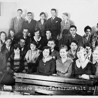 Leipzig -Öffentliche-Höhere-Handelslehranstalt -Klassenfoto-1929- Klasse-F B