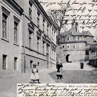 Siegen -Handelsschule- Burgstraße  -Poststempel-1905