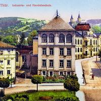 Sonnenberg- Thüringen  -Industrie--und-Handelsschule -1920