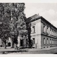 Aschersleben -Holzmarktschule -Poststempel-1953