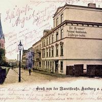 Harburg -Dr -Kramer s-Pensionat -Handelsschule -Einjähriges-Institut -Maretstr.