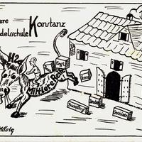Konstanz, Höhere Handelsschule, Mittlere Reife H 2a, 1936