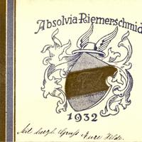 München -Handelsschule-Riemerschmid -Absolvia-1932