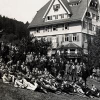 Calw -Handelsschule -Gruppenfoto-Schüler--und-Lehrer-1918
