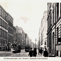 Hamburg -Grone s-Handels-Lehr-Institut- Ferdinandstraße  -1911