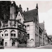 Calw -Handelsschule -Poststempel-1951