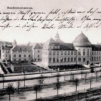 Köln,-Handelshochschule,-Poststempel-1912