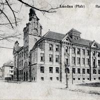 Landau, Handelsschule, Absendedatum 1919