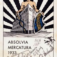 München -Städtische-Höhere-Handelsschule -Absolvia-Mercatura-1933