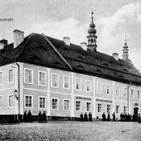 Saaz -Handelsschule -Absendedatum-1919