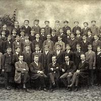 Saaz öffenliche-Kommunal-Handelsschule Schuljahr 1916/1917 bis 1917/18 I -Jahrgang