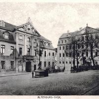 Altenburg (Thüringen), Handelsschule und Amtsgericht