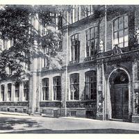 Berlin, Handels- und höhere Handelsschule Berlin-Kreuzberg SW 68, Brandenburgerstr. 3