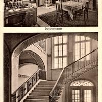 Braunschweig, Drogisten-Akademie (Direktorzimmer und Treppenhaus)