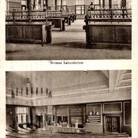 Braunschweig, Drogisten-Akademie (Grosses Laboratorium und Grosser Hörsaal)