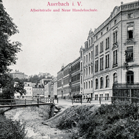 Auerbach i. V. Neue Handelsschule