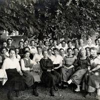 Augsburg Handelsschule 1917
