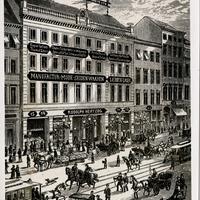Berlin Kaufhaus Rudolf Herzog 1880
