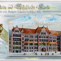 Hamburg Deutschnationale Handlungsgehilfenverband Mitgliedskarte