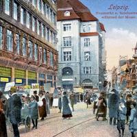 Leipzig während der Messe
